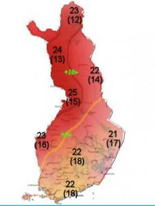 Finlandmapp