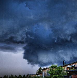Ukkospilvi, Järfälla Stockholm #forecaweather