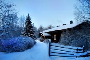 Kuva2: Valkea joulu on sisämaassa todennäköinen.