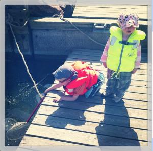 Lohikäärmettä metsästämässä (kalastamassa) kesäkuussa