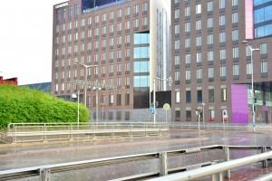Kuva 12: Paluumatkallani myös Helsinki sai niskaansa nopeasti ohimenevän ukkoskuuron.