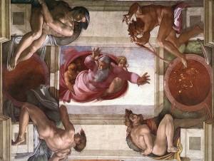 Kuva: Michelangelo Buonarroti, fresco, Sikstiiniläiskappeli / Wikimedia Commons.