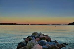 Kuva 13: Elokuun alussa koettiin useita trooppisia öitä etelärannikolla (kuva: Helsinki, Mustikkamaa)