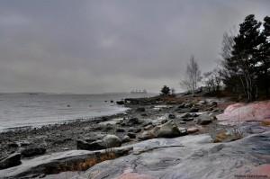Kuva 16: Marraskuu oli eteläisessä Suomessa harvinaisen harmaa (kuva: Helsinki, Mustikkamaa)