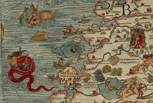 Ison ja vaarallisen valtameren erottaa meistä Skandinavian niemimaan Kölivuoristo.