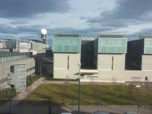 Meteorologiaa opiskellaan Helsingin Kumpulan kampuksella.