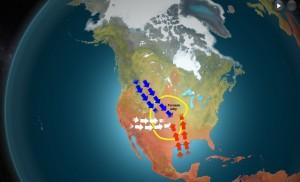 """Kuva 2: Yhdysvaltojen """"Tornado Alley"""" on maapallomme tornadoherkintä aluetta."""