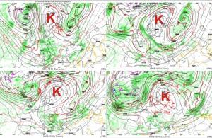 Kuva 1: Korkeapaine jämähtää ensimmäistä kertaa tänä kesänä Suomen ylle.