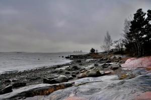 Kuva 1: Marraskuulle tyypillinen harmaus ja tihkusateet jäävät toistaiseksi tulematta (kuva: Markus Mäntykannas).