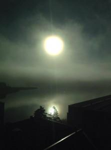Sumu hälvenee usein päivän mittaan (kuva: Joanna Rinne)