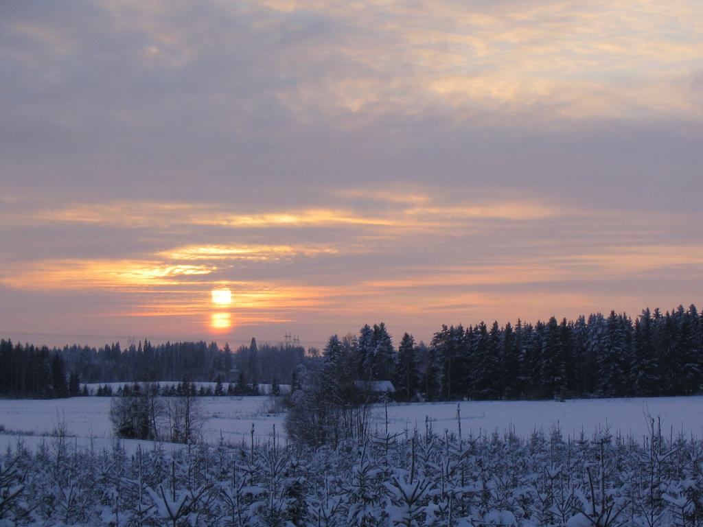 Pilvisyys vaihtelee talvipäivänä (kuva: Aleksi Stenberg / Flickr)