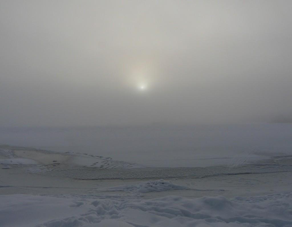Sumua Suomenlahdelta (Kuva: Joanna Rinne)
