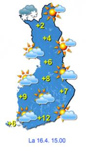 Kuva: Foreca
