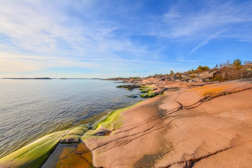 Suomen mantereen eteläisimmässä pisteessä. /kuva: Markus M.