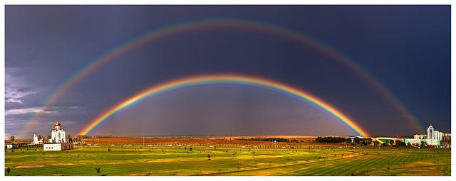 Kaksoissateenkaari (Kuva: Ivan/Flickr)