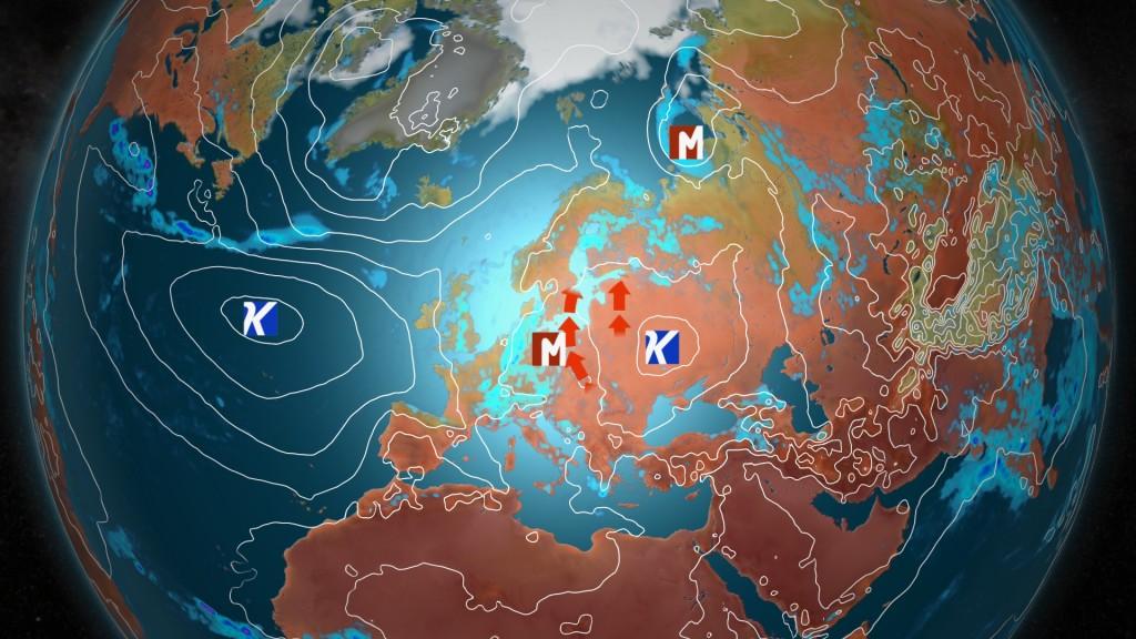 Kuva: Lämmintä ja kosteaa ilmamassaa nousee Suomeen juhannusviikonlopun aikana etelästä. / kuva MTV Uutiset