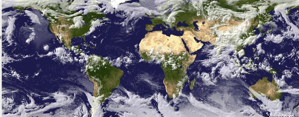 Säärintamia Satelliittikuvassa (Foreca)