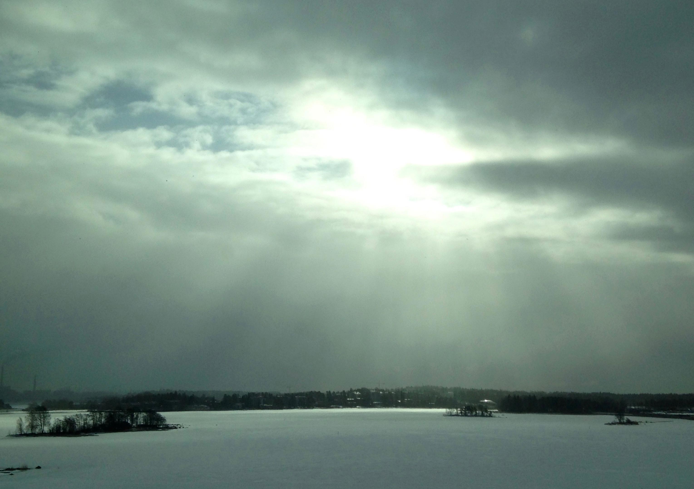Talvinen Keilalahti (Kuva: Joanna Rinne)