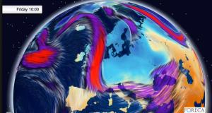 Viikonlopun ajan Pohjois- ja Itä-Eurooppa kuuluvat vielä kylmän polaarisen ilmamassan piiriin.