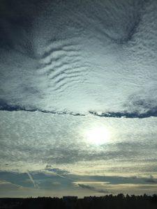 Syyskuinen taivas (Kuva: Joanna Rinne)