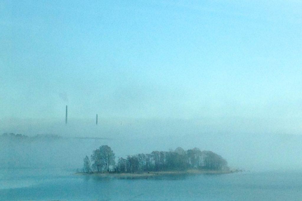 Sumu söi Helsingin (Kuva Forecan toimiston ikkunasta: Joanna Rinne)